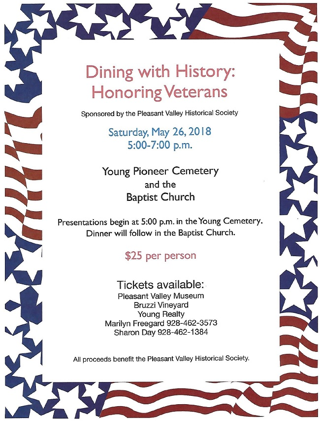dining with history honoring veterans