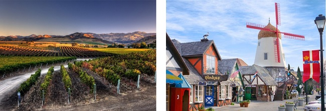 santa barbara old town marina and santa ynez winery tours solvang 3