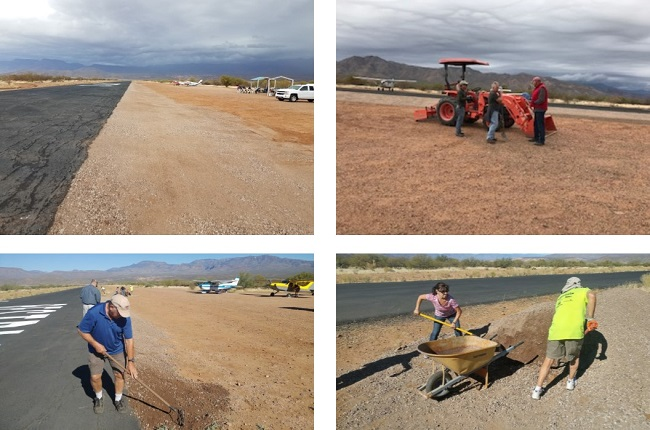 2018-02-working on grapevine airstrip