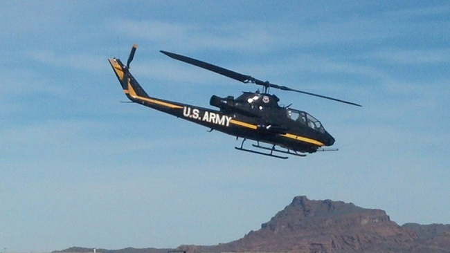 The Army Aviation Heritage Foundation (AAHF) has come to AZ!