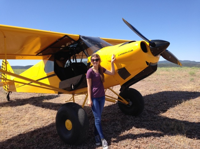 APA Scholarship Winner Takes Flight in the Backcountry