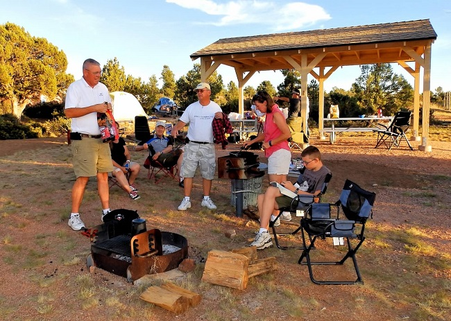 spring backcountry kicks off payson airport campground