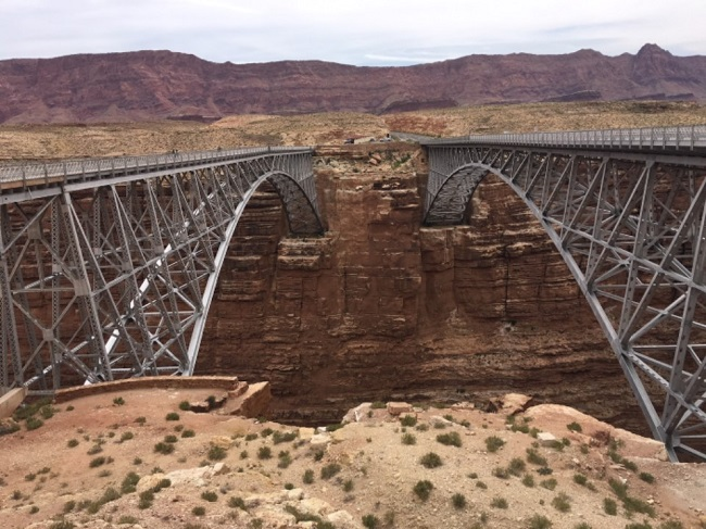 arizona airport focus marble canyon bridges