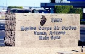 yuma international airport marine corps air station