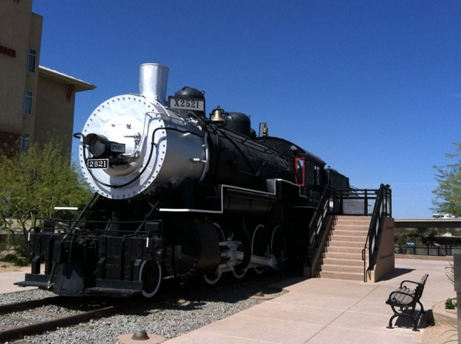 yuma international airport transcontinental railroad