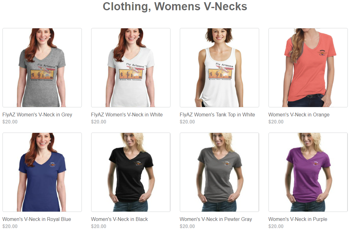 womens v necks
