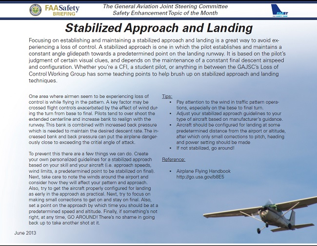 2018 09 faa stabilized approach and landing