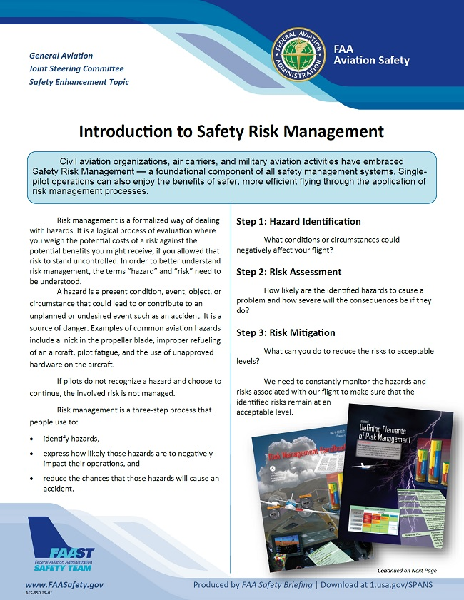 2019 01 01 faa introduction to safety risk management
