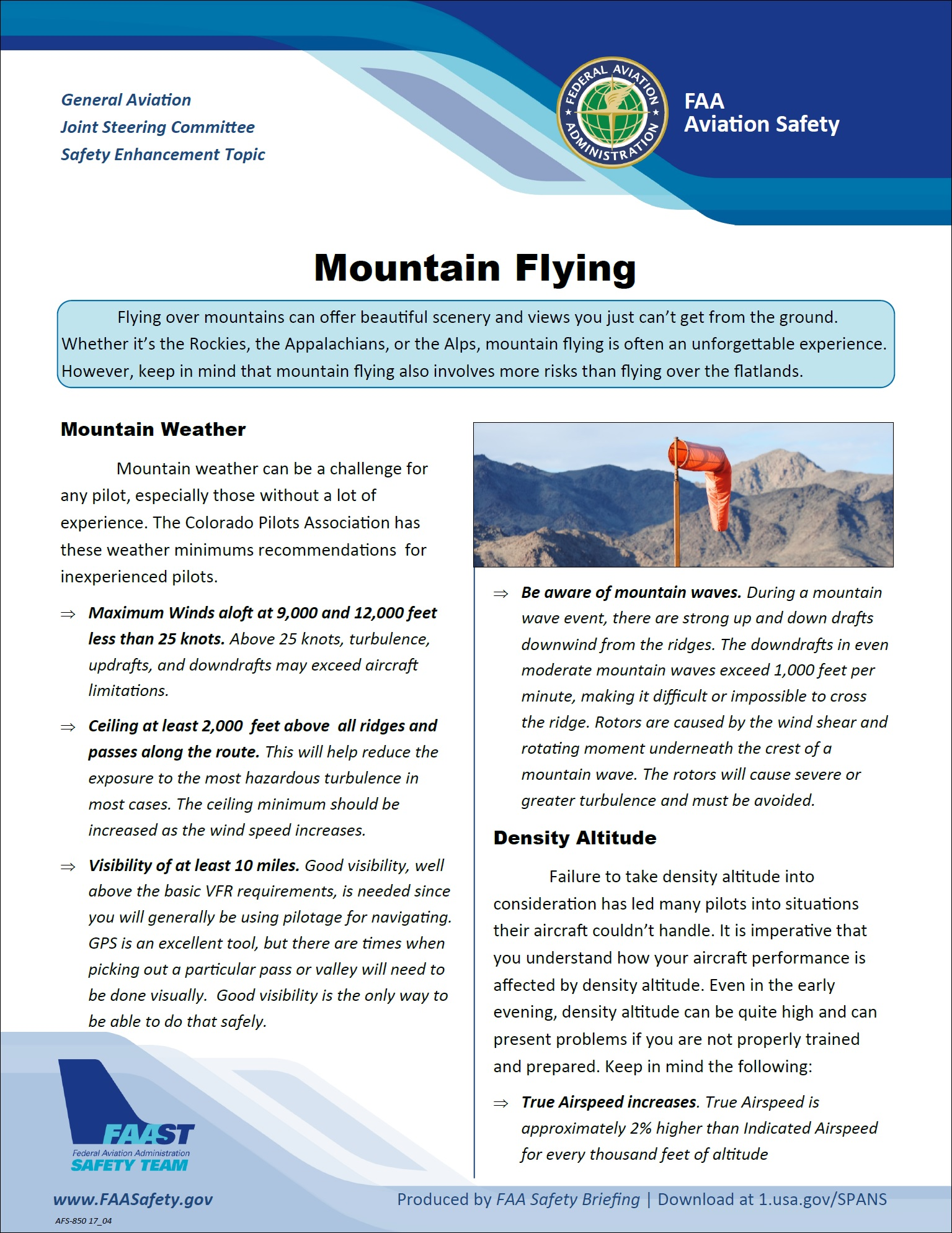 2019 03 01 faa mountain flying