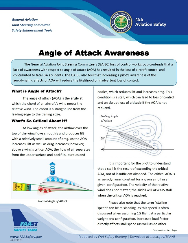 2019 05 01 faa angle of attack awareness