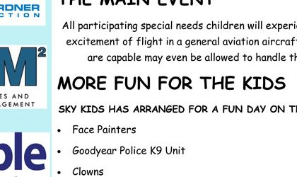 Read more: 3rd Annual Sky Kids Fly Day at Goodyear Airport