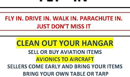 Read more: Flea Market Fly-In at Eagle Roost Airpark Feb 21st