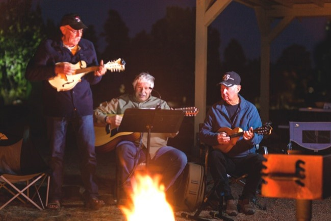 2019 3 spring backcountry campfire singing