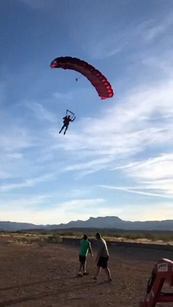 grapevine update 2020 december parachute drops