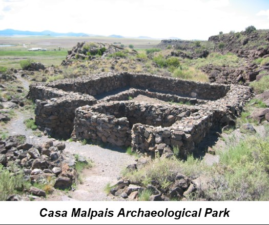 arizona airport focus springerville casa malpais archaeological park 1
