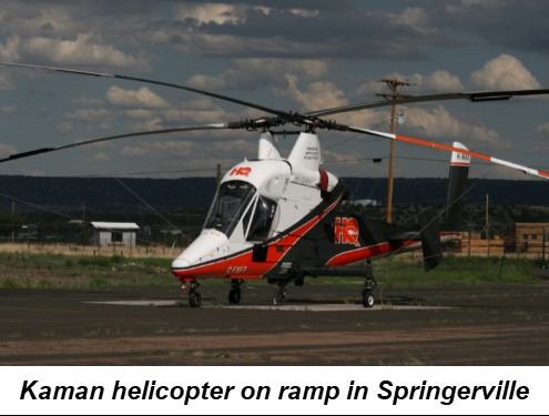 arizona airport focus springerville kaman helicopter