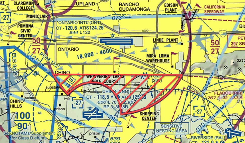 airspace ont tower granted to cno tower for transitioning aircraft